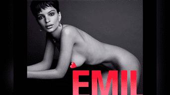Emily Ratajkowski eleva la temperatura con sus desnudos de cuerpo entero. Foto: Instagram