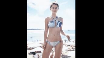 Flavia Laos presume su cuerpo en bikini tras aumentarse el busto. Foto: Instagram