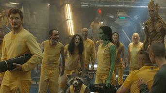 Guardianes de la Galaxia: Un extraño grupo se forma para salvar el universo.