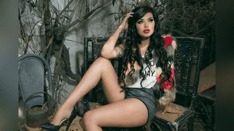 La modelo peruana se lanzó como empresaria de ropa con una línea de prendas urbanas.