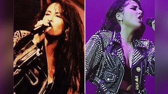 Selena se convirtió en su primer ídolo musical, y hasta el día de hoy le rinde homenaje por ser su máxima inspiración.