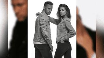 Neymar y Emily Ratajkowski se encargaron de compartir las instantáneas en sus redes sociales. Foto: Instagram oficial.
