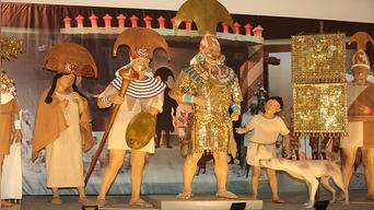 Arequipa: Un rey del antiguo Perú en Arequipa