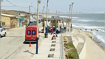 Malecón. Es visitado por turistas nacionales y extranjeros.
