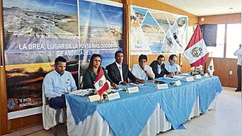 Sesión. CCRT pide impulsar y consolidar el turismo en Talara.