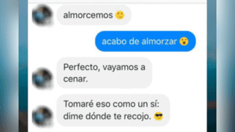 Un ladrón le robó el celular a una chica y luego se comunicó con ella por Facebook buscando enamorarla. La conversación se volvió tendencia por su inesperado desenlace. Foto: Captura.