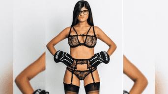 Mia Khalifa desafía la censura de las redes sociales con esta imagen.(Foto:Instagram)