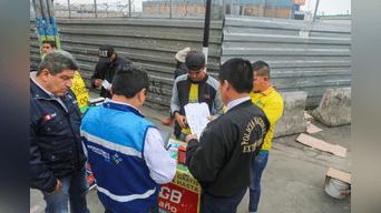 Autoridades migratorias fiscalizan si extranjeros cuentan con documentación en regla
