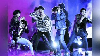 BTS triunfó en los Teens Choice Awards 2018. Foto: AFP.
