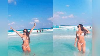 Dorita Orbegoso presume su cuerpo en bikini. Foto: Instagram
