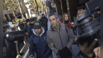 Roberto Baratta, recaudador de dinero para los Kirchner. Fotografía: Agencias.