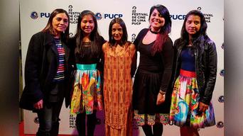 Inés Melchor estuvo presente en la alfombra roja del Festival de Cine de Lima, espacio en el que presentaron el documental que protagoniza.