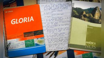 Los cuadernos que prueban las coimas que pagaban los empresarios. Fotografía: Agencias.