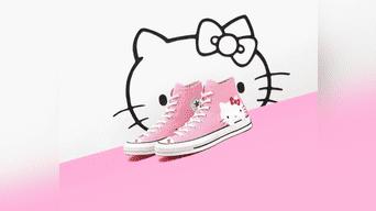 5e1206619f923 Converse lanzará una línea de tenis inspirada en Hello Kitty ...