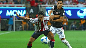 Chivas derrotó por la mínima diferencia a Necaxa por el Torneo Apertura  2018 de la Liga ac0908feb0e