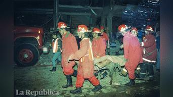 El atentado de Miraflores de 1992 consistió en la explosión de un coche bomba en la cuadra 2 de la calle Tarata. Foto: Archivo