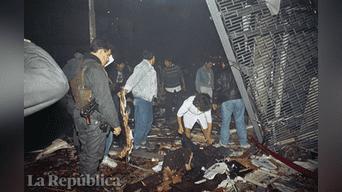Atentado en Tarata: el trágico recuerdo de los 25 muertos en 1992. Foto: Archivo