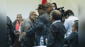 Abimael Guzmán fue sentenciado a cadena perpetua por el caso Tarata. Foto: Héctor Jara