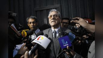 Abimael Guzmán y otros 9 cabecillas de la cúpula senderista fueron sentenciados a cadena perpetua por el caso Tarata. Foto: Héctor Jara