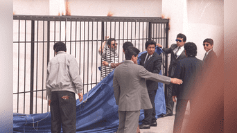 Abimael Guzmán fue presentado a la prensa nacional e internacional 12 días después. Foto: Archivo Histórico La República.
