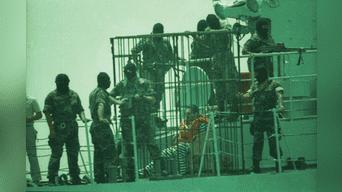 Fue llevado en un yate hacia la Isla San Lorenzo. Foto: Virgilio Grajeda.