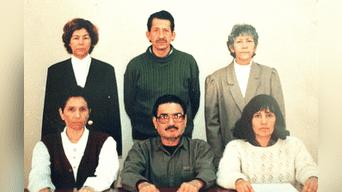 Abimael Guzmán y la cúpula de Sendero Luminoso. Foto: Archivo Histórico La República.