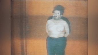 El autodenominada la cuarta espada del cumunismo, Abimael Guzmá, luce descubierto tras su captura. Foto: Archivo Histórico La República.