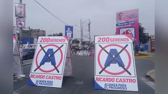 Elecciones municipales: candidato a la alcaldía de San Luis expone la vida de sus trabajadores.