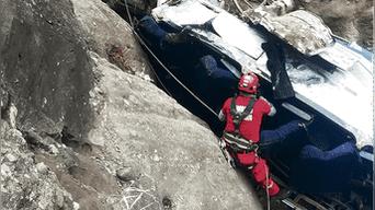 Cusco: 23 murieron en accidente de bus