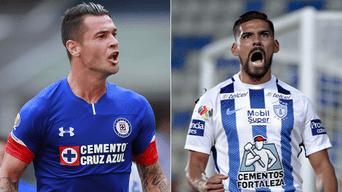 Ver EN VIVO Cruz Azul vs. Pachuca ONLINE EN DIRECTO vía ESPN y Claro Sports  por la fecha 11 de la Liga MX 2018 Créditos  Composición Larepublica.pe    EFE b91e96ec48388