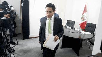 Investigación. Procurador Amado Enco presentó denuncia por delito de organización criminal y tráfico de influencias. Foto: Jhonel Rodríguez