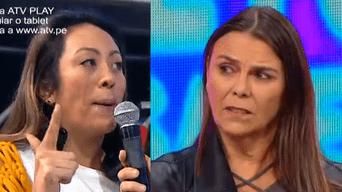 Cathy Sáenz y Marisol Crousillat