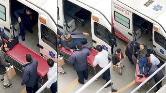 Alberto Fujimori se internó en la clínica Centenario, acompañado de su hijo Kenji Fujimori, luego de conocerse la decisión del juzgado supremo de investigación preparatoria.
