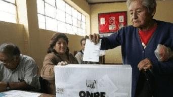 De cara a las Elecciones 2018, los ciudadanos podrán tramitar su justificación de perder su DNI. Foto: archivo