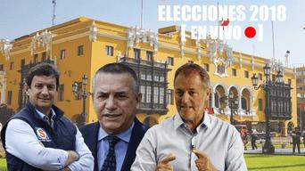 Elecciones 2018: Sigue todas las incidencias de las elecciones para conocer al nuevo alcalde de Lima. Foto: La República