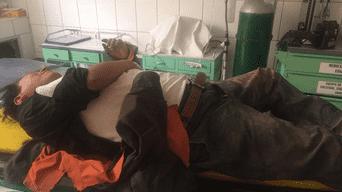 Candidato fue trasladado luego hasta el hospital de EsSalud en Yanahuara
