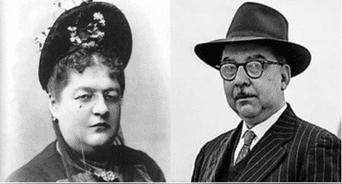 Clorinda Matto de Turner y Martín Adán.
