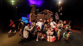Aedo montó el show por primera vez en el 2009, en un teatro cusqueño. Fotografía: Melissa Merino.
