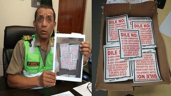 En Cochacra detuvieron a personas repartiendo panfletos