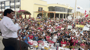 Javier Gallegos obtuvo un mayoritario apoyo en primera vuelta para la región Ica.