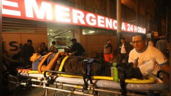 El comerciante baleado fue internado en el Hospital María Auxiliadora.