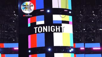 American Music Awards y en vivo