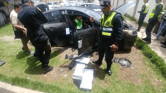 Tres personas fueron intervenidas durante incautación de droga