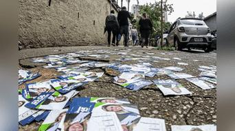 Firmeza. Brasileños mostraron su descontento con la clase política de su país, la que está comprometida en millonarias denuncias de defraudación.