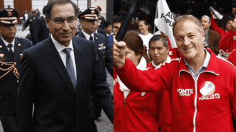 Martín Vizcarra y Jorge Muñoz se reúnen en Palacio de Gobierno. Fotos: La República