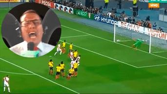Daniel Peredo inmortalizó una de las frases más recordadas por los hinchas de la selección peruana, quienes recordaron en Facebook el gol que nos clasificó al repechaje.