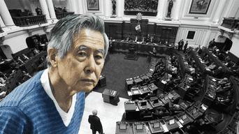 Pleno del Congreso debate proyecto que busca liberar a Alberto Fujimori. Foto: La República.