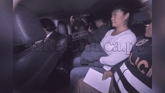 Keiko Fujimori: las incidencias tras su detención preliminar [EN VIVO].