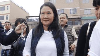 Corte Suprema resolverá recurso de casación de Keiko Fujimori
