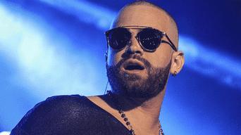 El cantante de pop venezolano Nacho